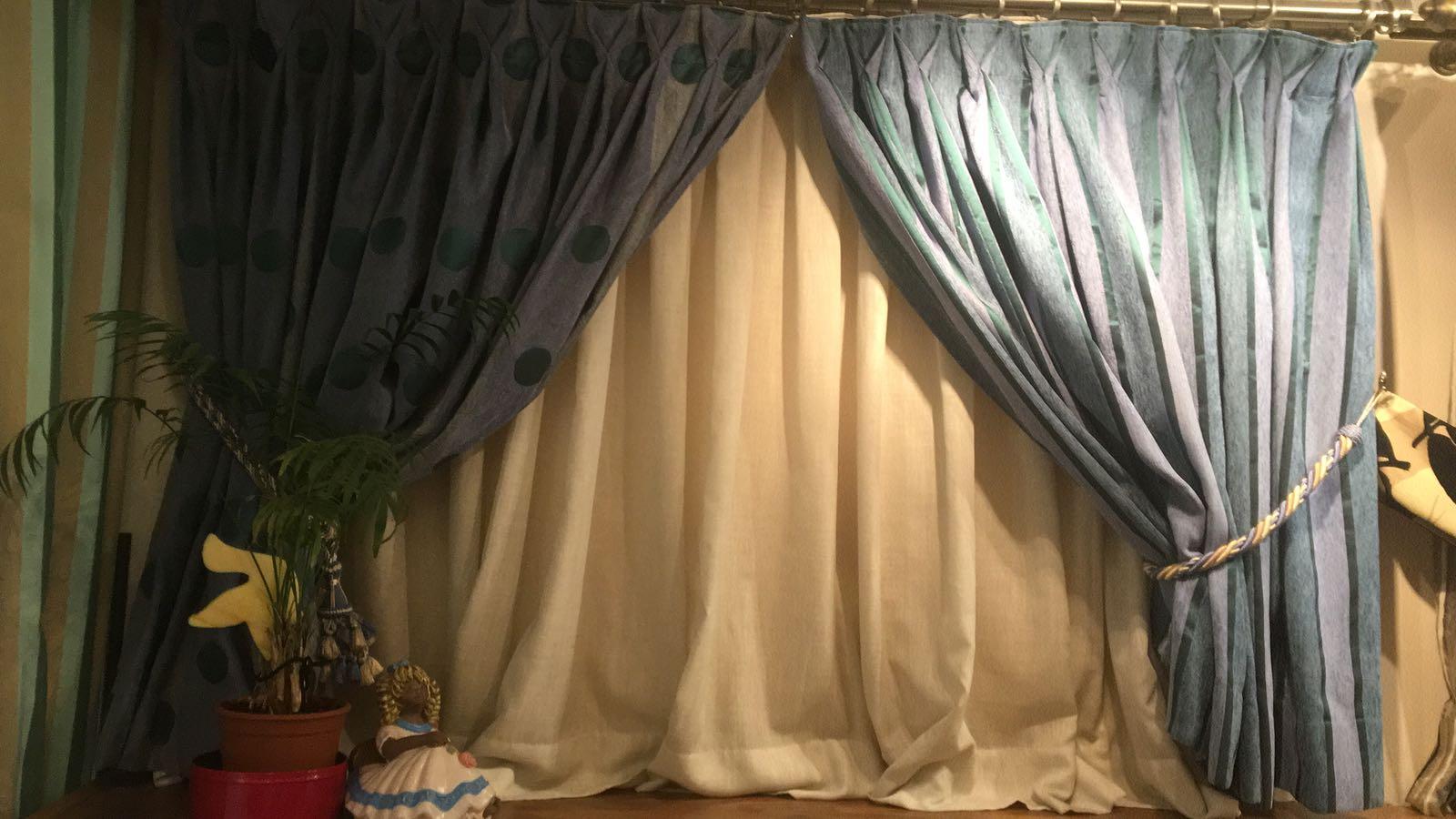 Visillos y cortinas tapicerias jacinto blanco - Cortinas y visillos confeccionados ...